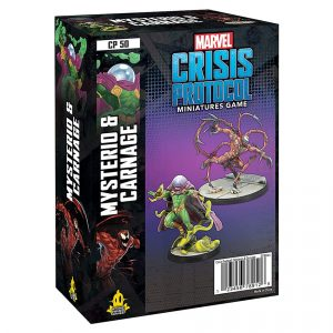 Mysterio & Carnage Character Pack Marvel Crisis Protocol