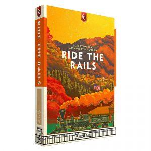 Ride The Rails Board Game