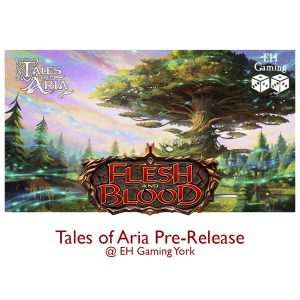 Flesh & Blood - Tales of Aria pre-release event