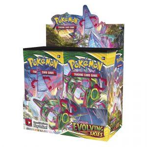 Pokemon TCG: Sword & Shield 7 Evolving Skies Booster Box