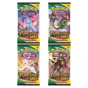 Pokemon TCG: Sword & Shield 7 Evolving Skies Booster Pack