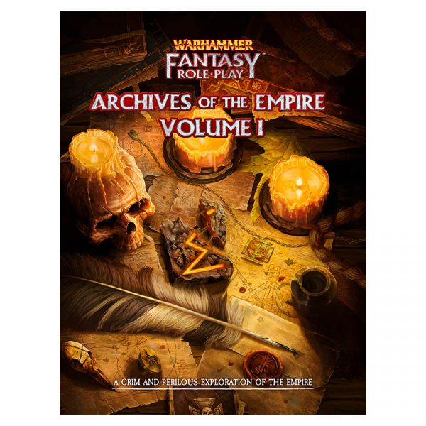 Warhammer Fantasy Roleplay: Archives of the Empire Volume 1