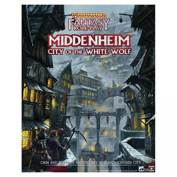 Warhammer Fantasy Roleplay: Middenheim - City of the White Wolf